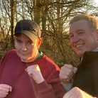 Since the revelation, Simon has been in touch with Irish boxer Steve Collins