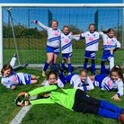 Hitchin Belles Football Club's U10 team