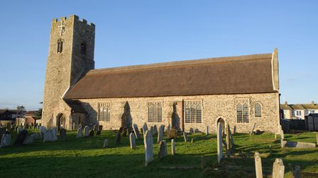 The 70th Anniversary of the re-dedication of Pakefield Church will take place on January 29. Picture