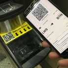 E-tickets open gates with new barcode readers