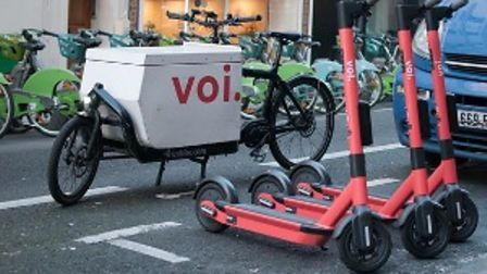 Voi Technology e-scooters