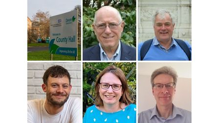 The candidates for the Devon County Council election in the Otter Valley ward