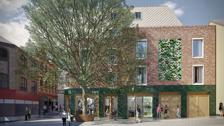 Plans for Chamberlain House in Norwich
