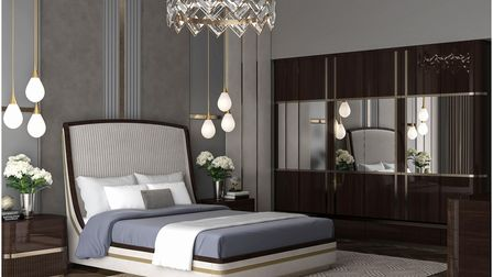 Luxury bedroom designed by Juliettes Interiors