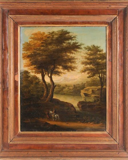 Eva Schloss' painting attributed to Dutch master Meindert Hobbema goes under the hammer in Dawsons on April 29.