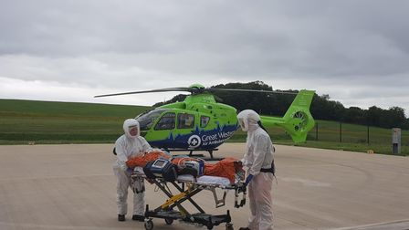 April 12: Air ambulance sees surge in incidents