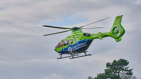 April 12 week almost matches last April's entire number of air ambulance call-outs