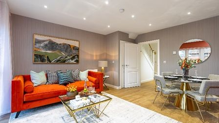 A showhome at the development