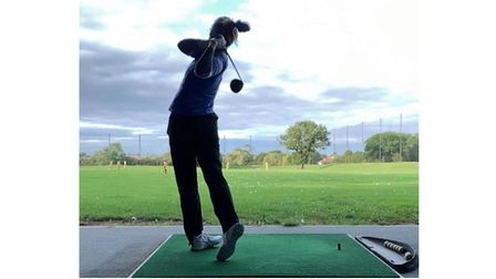 Talented golfer Fiona Stokes, 20, from Lowestoft, has been awarded Ron Harrod Foundation funding.