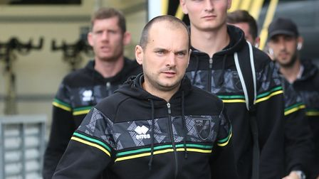 Norwich City Sporting Director Stuart Webber before the Pre-season friendly match at Stadion Laumesk