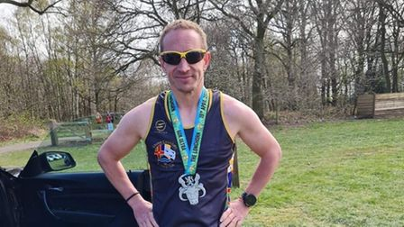 Craig Freestone of Three Counties Running Club
