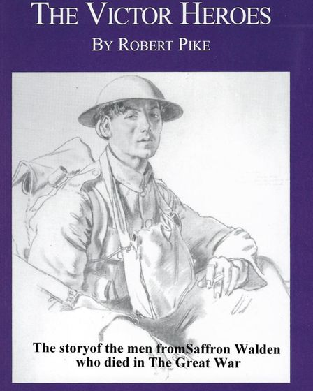 Front cover of The Victor Heroes by Robert Pike. The foreword was written by Sir Alan Haselhurst MP