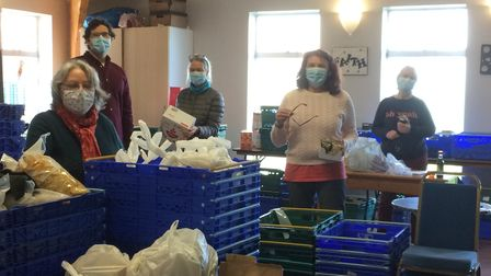 VIc Mason at Muswell Hill Foodbank
