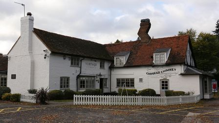 The Crooked Chimney pub featured in an Inspector Morse episode also filmed nearby at Brocket Hall.