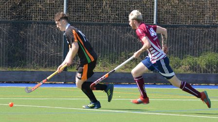 Sidmouth and Ottery HC men's first XI vs Torbay
