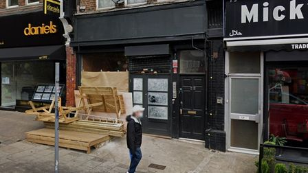 Orfeo restaurant site in Chamberlayne Road