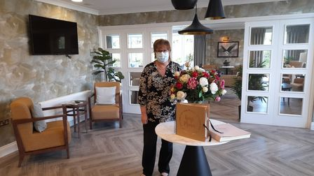 MaritaWestaway is the new manager at King's Manor Care Home