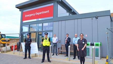 A victim support room has been created at the NNUH