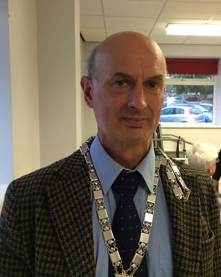 Robert Savage has been elected mayor of Wymondham for the 2017/18 term. Picture: Stuart Anderson