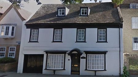 The old Rose and Crown pub in Ermine Street, Huntingdon, is now a residential property.