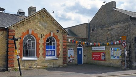 The St Neots Museum hopes to fully reopen in May, the shop opened on April 12.