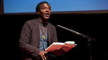 British author, poet and broadcaster Lemn Sissay was one of many fantastic guests at the Folkstone Book Festival in 2019