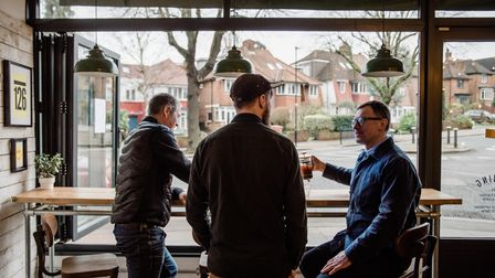 Paul Tocher and Russell Stinson of Korto in Muswell Hill founded Fireheart with buyer and roaster Thomas De Garnham