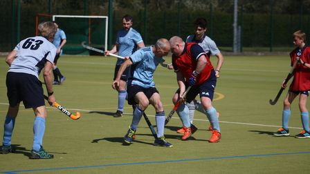St Neots Hockey Club's men go head to head