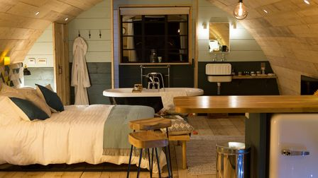 The stylish interior of The Pigsty has attracted visitors online