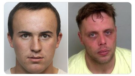 Bobby Price (left) and Karl Taylor (right), who were both wanted for prison recall, have been arrested.