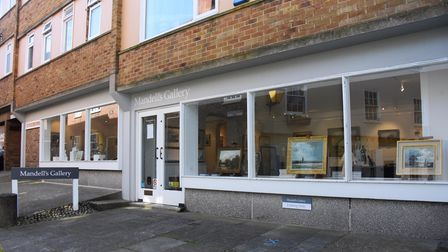 Mandell's Gallery at Elm Hill. Picture: DENISE BRADLEY