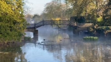 Godmanchester's 'other' Chinese bridge taken by Nigel Pauley