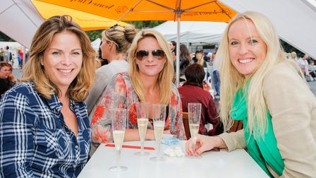You can enjoy a glass of Champagne at the Foodies Festival, which is coming to Cambridge.