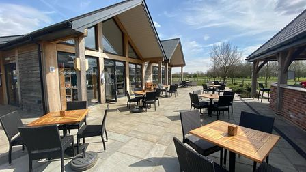 Catch some sun on the Fynn Valley Cafe Terrace