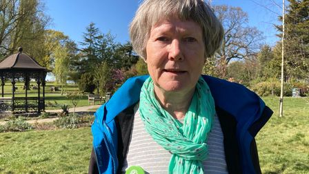 Sheila Simpson Green Party candidate Brondesbury Park