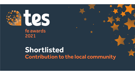 New City College has been shortlisted for the TES FE Awards 2021