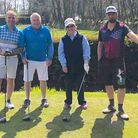 Founders Day winners at Honiton GC