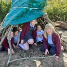 Shute Community Primary School pupils enjoy their new-look grounds