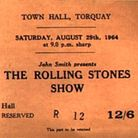 The Rolling Stones Show programme for Torquay Town Hall in August 1964
