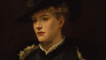 Painting of the actress Dame Ellen Terry by Sir Johnston Forbes-Robertson