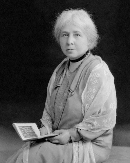 Photograph of archaeologist and folklorist, Margaret Murray, c1928