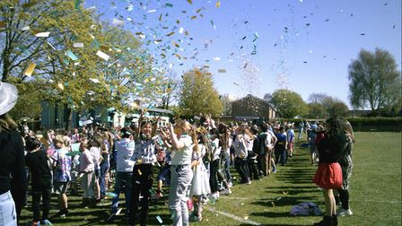 Confetti cannons to celebrate 50th birthday at Prae Wood School