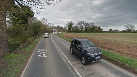 The collision happened on the A137 at Wherstead