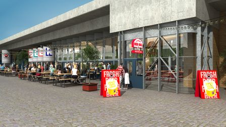 Camden Town Brewery's new Beer Hall will be bigger inside and out
