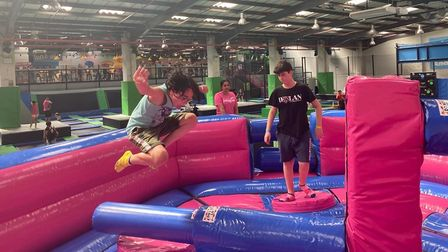 Jump In Ipswich will unveil a new attraction called the Wipeout Zone.