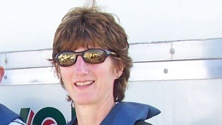 Jane Perry, from Paignton Rowing Club