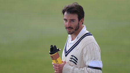 Middlesex's Toby Roland-Jones during the LV= Insurance County Championship match at Lord's
