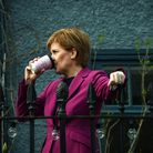 Scotland's First Minister Nicola Sturgeon, leader of the Scottish National Party (SNP)