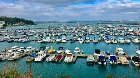 Brixham harbour and the fishing industry