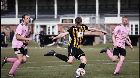 Jamie Smith on the attack